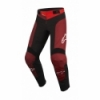 Pantaloni Alpinestars Youth Vector Anthracite Bright Red
