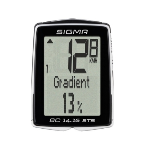Ciclocomputer Sigma Sport BC 14.16 ALTI STS CAD