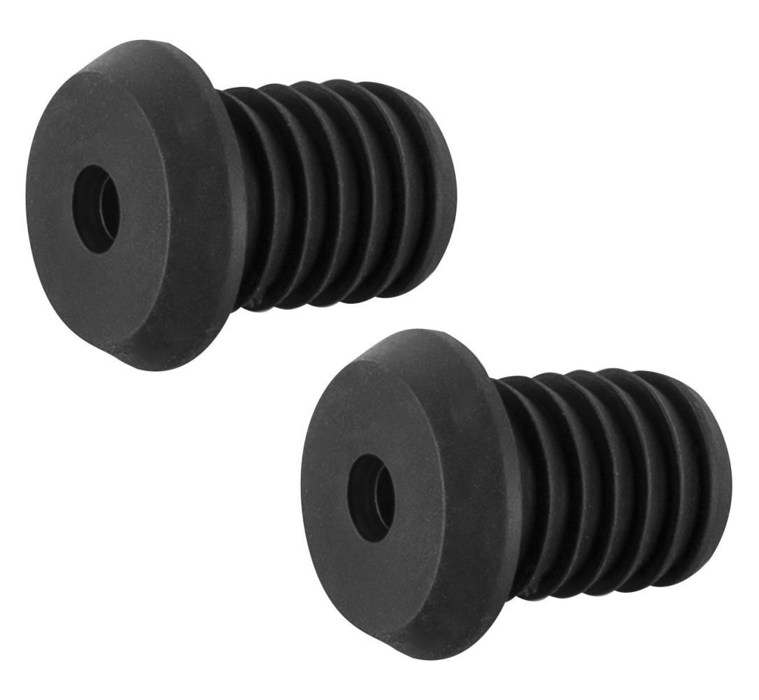 Mansoane BBB BHG-06 DualGrip 125mm negru/albastru