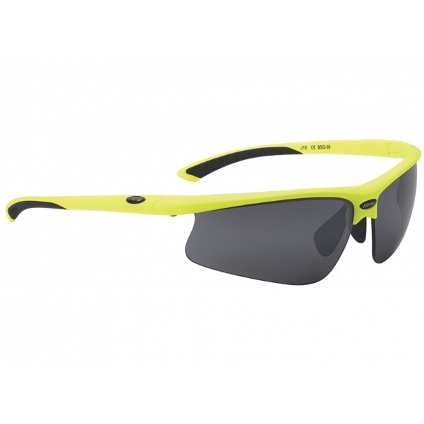 Ochelari BBB BSG-39 Winner lentile PC Smoke flash galben neon