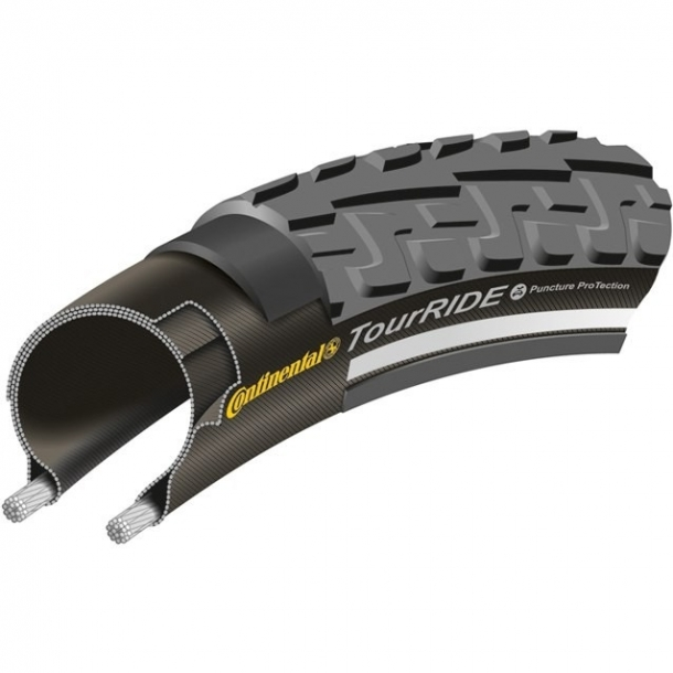 Anvelopa 20'' Wired Continental Ride Tour 20 x 1.75 - 406 x 47