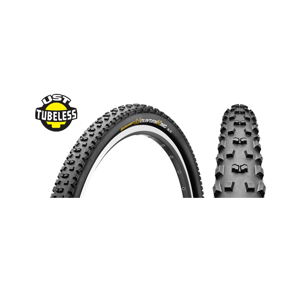 Anvelopa 26'' Wired Continental Mountain King UST 26 x 2.4 - 559 x 60