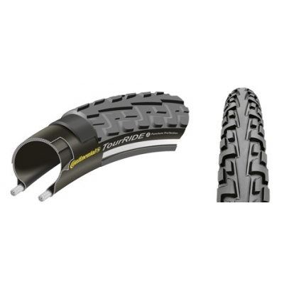 Anvelopa 26'' Wired Continental TourRide Reflex PunctureProTection 26 x 1.75 - 559 x 47
