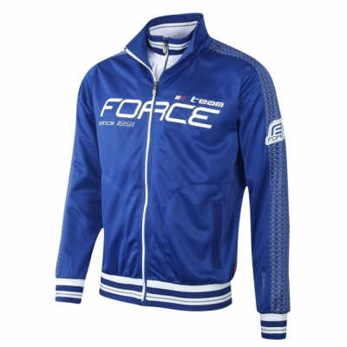 Bluza Force 1991 cu maneci lungi albastra