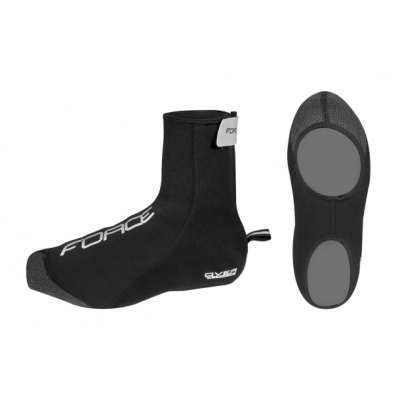 Huse pantofi Force Neoprene Over negre