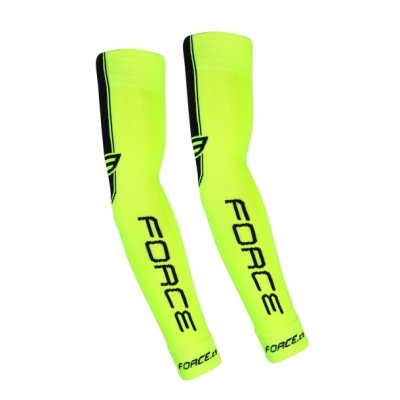 Incalzitoare brate Force Knitted Fluo