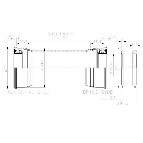 Antifurt Trelock Potcoava Cadru Trelock Rs 452 diam13 22 5mm argintiu
