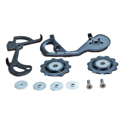 Apex Short Rear Derailleur Cage Pulley Complete Kit