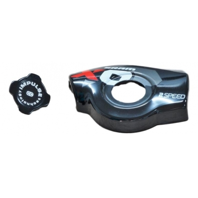11 X0 Trigger Cover Kit Left 2Speed Red