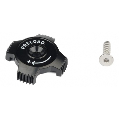 Preload Adjuster Knob Aluminum